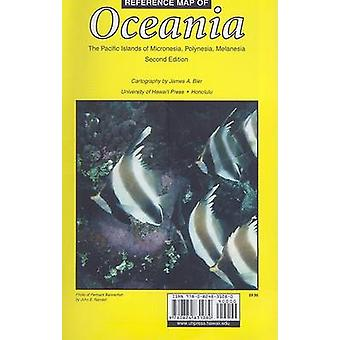 Reference Map of Oceania by James A. Bier