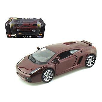Lamborghini Gallardo Borgoña 1/24 Diecast Modelo de coche por Bburago