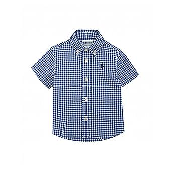 Polo Ralph Lauren Copiiswear cu mâneci scurte Gingham Shirt