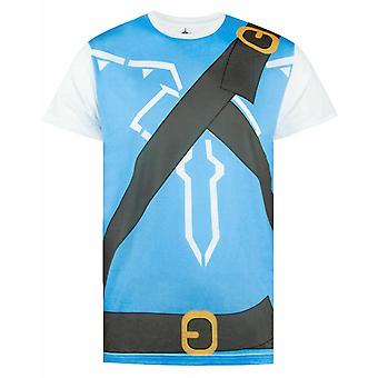 The Legend of Zelda Breath of the Wild Kostuum Mens T-shirt