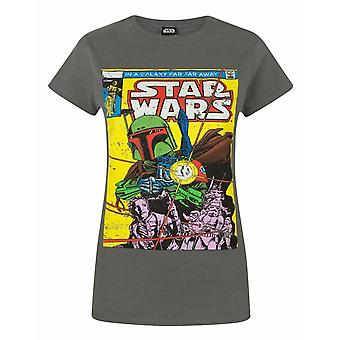 Star Wars Boba Fett Comic Women's T-Shirt