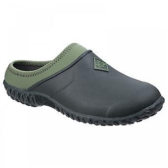 Muck Boots Ladies Rhs Moss Green Muckster Ii Neoprene Lined Gardening Clogs