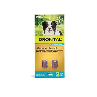 Drontal Chewable 10kg 2pack