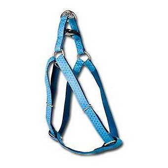 Nayeco MacLeather koira valjaat sininen M (koirat, kaulus kaulanauha, johtaa ja valjaat, valjaat)