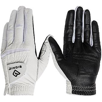 Bionic Men's Left Hand Relax Grip 2.0 Golf Glove - Black