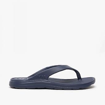 Totes Sol Bounce 0350 Ladies Everywear Flip Flops Navy
