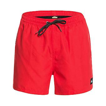 Quiksilver Everyday Volley 15 Elasticated Boardshorts in High Risk Red