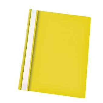 RVFM Flat File Polypropylene A4 Yellow Pack of 25