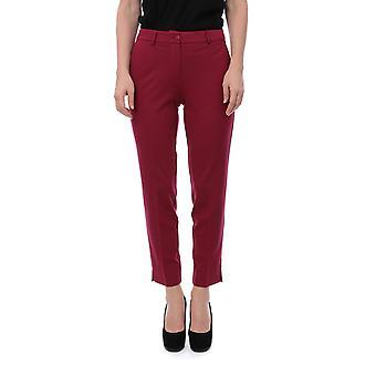 Twin-set 192tp209103896 Women's Red Viscose Pants