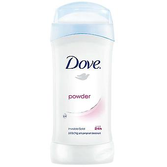Dove invisible solid anti-perspirant deodorant, powder, 2.6 oz