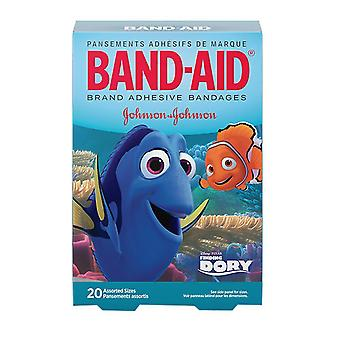 Band-aid children's bandages, disney's finding dory, assorted, 20 ea