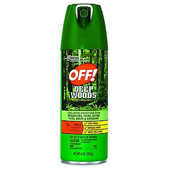 Off! deep woods insect repellent v spray, 6 oz