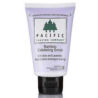 Pacific de ras co. femei ' s frecarea de bambus exfoliere, 3 oz