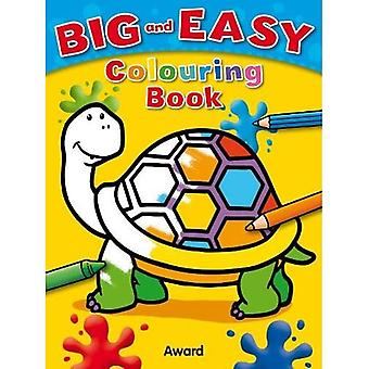 Big & Easy Colouring Book: Tortoise (Big and Easy)