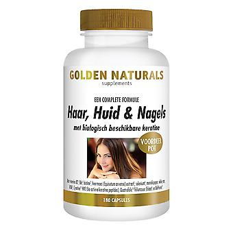 Golden Naturals hair, skin Nails & (180 vegetarian capsules)