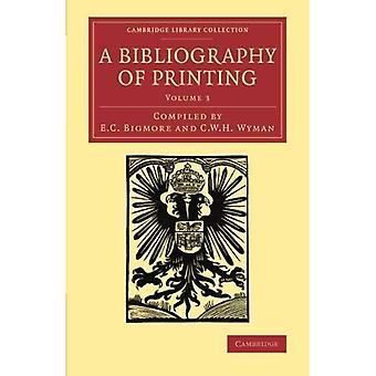Bibliografia druku 3 głośność zestawu: Bibliografia druku: Z notatek i ilustracje: Tom 3 (Cambridge...