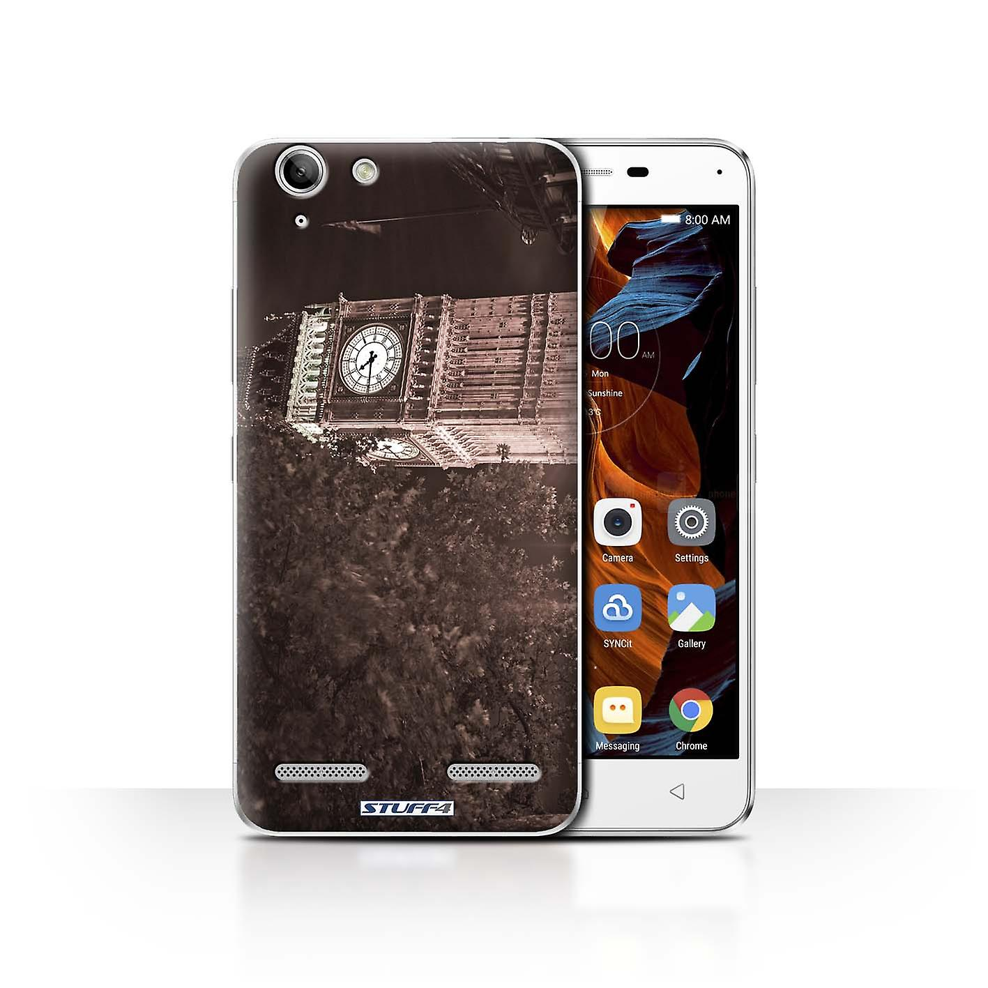 Stuff4 Case Cover For Lenovo Vibe K5 Plus Big Ben Sepia