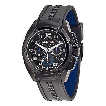 Sector No Limits Watch Analog quartz Silicone wrist watch R3251581001