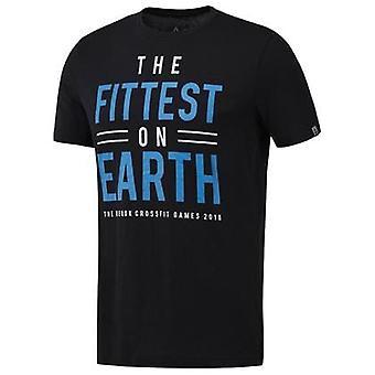 Reebok Crossfit Fittest ON Earth DN2392 t-shirt universel pour hommes d'été