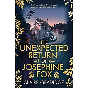 The Unexpected Return of Josephine Fox - Winner of the Richard & J