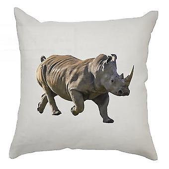 Animal Cushion Cover 40cm x 40cm Rhino