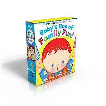 Baby's Box of Family Fun! - A 4-Book Lift-The-Flap Gift Set - Where Is