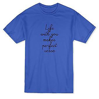 Vie de Saint-Valentin avec vous rend parfaitement logique T-shirt homme