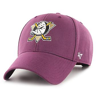 47 Brand Adjustable Cap - MVP Anaheim Ducks plum lila