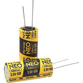 VINATech WEC3R0256QG Supercapacitor (SC) 25 F 3 V (Ø x H) 16 mm x 25 mm 1 pc(s)