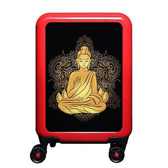 meinTrolley Buddha S, 4 Rollen, 55 cm, 32  L, Rot