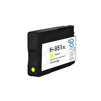 1 gul kompatibel HP 951Y -printerblækpatron (HP951XL)