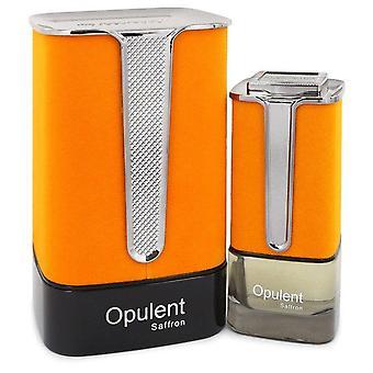 Al Haramain Opulent Saffron Eau De Parfum Spray (Unisex) Par Al Haramain 3,3 oz Eau De Parfum Spray