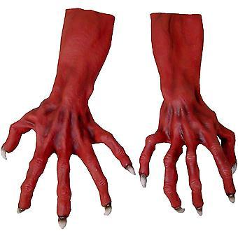 Ultimate hirviö kädet punainen