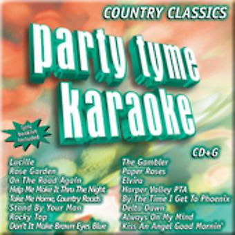 Party Tyme Karaoke - Party Tyme Karaoke: Vol. 1-Country Classics [CD] USA import