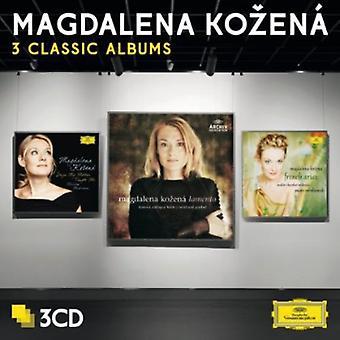 Malcolm Martineau Michael Freimuth Mahler Chamber-Magdalena Kozen: 3 klassiska album [CD] USA import