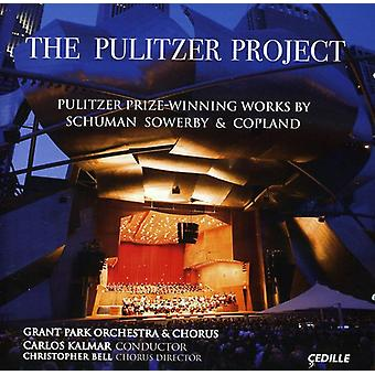 Schuman/Copland/Sowerby - The Pulitzer Project [CD] USA import