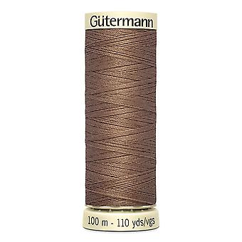 Gutermann Sew-all 100% Polyester Thread 100m Hand and Machine Colour Code  - 454