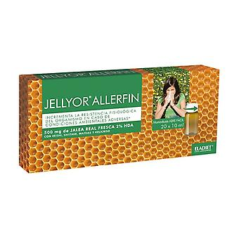 Jellyor Allerfin Royal Jelly and Reishi 20 ampoules of 10ml