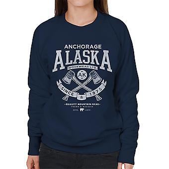 London Banter Alaska Axe logo mulheres camisola ' s