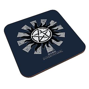 Supernatural Retro Japanese Coaster