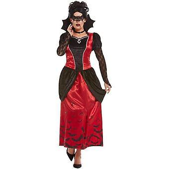 Gothic Vampiress Kostüm Erwachsene Schwarz