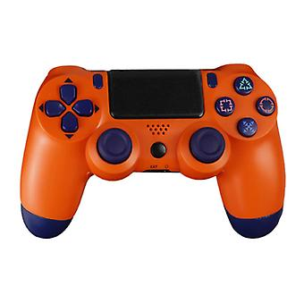 Stuff Certified® Gaming Controller for PlayStation 4 - PS4 Bluetooth Gamepad with Vibration Orange