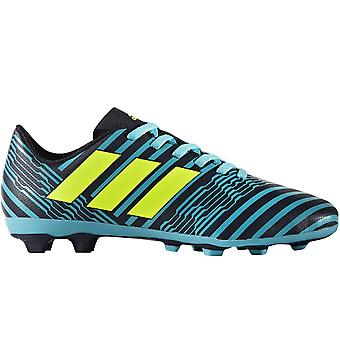 adidas Performance Boys Nemeziz 17.4 Firm Ground Football Boots - Blue