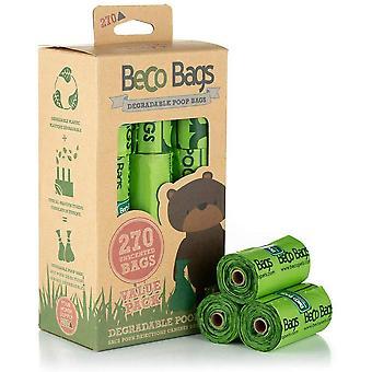 Beco Unscented Biologisch Afbreekbare Kak zakken - 270 zakken