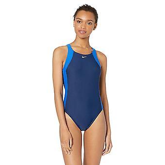 Nike Schwimmen Frauen's fast Back ein Stück Badeanzug, Spiel Royal/Midnight Navy, 38