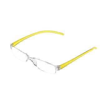 Lesebrille Unisex  Facile gelbe Stärke +1,00 (le-0129F)