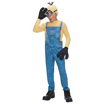 Minion Kevin Despicable Me Dress Up Boys Costume
