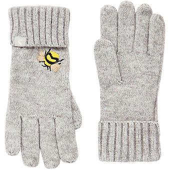 Joules Womens Stafford Warm Embroidered Winter Gloves