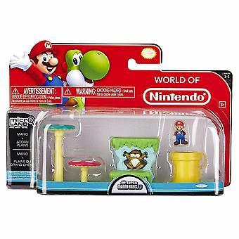 Mario Acorn Plains (Super Mario Bros) Microland Action Figure
