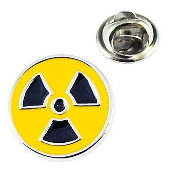 Ties Planet Toxic Radioactive Symbol Lepel Pin Badge